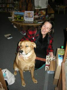 Erica and Kota - feel free to bring your dog by. We always have treats!