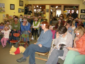 An audience shot of some of Joe & Dondi's fans.....